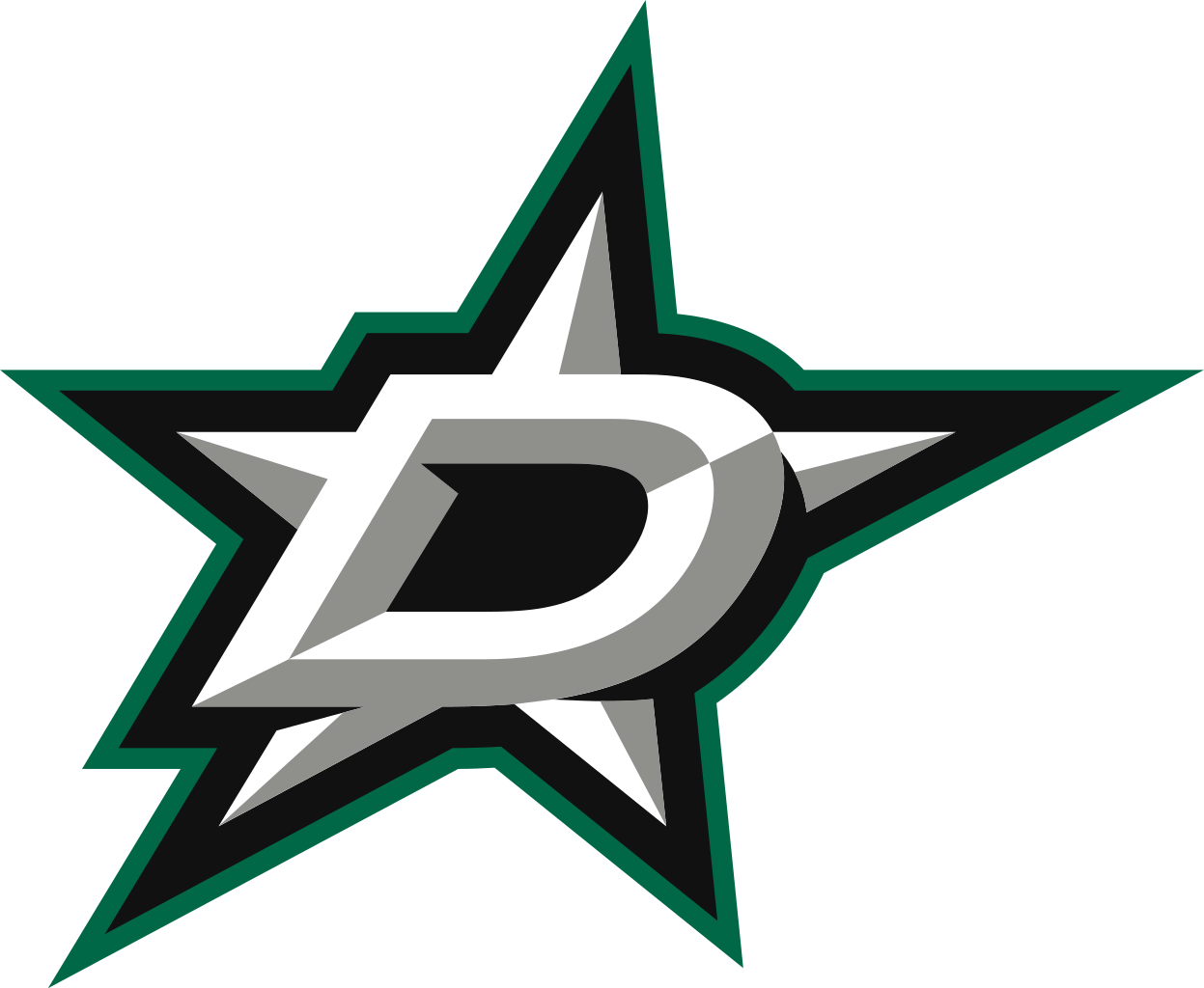Star logo clipart picture free stock Dallas Stars Official Logo transparent PNG - StickPNG picture free stock