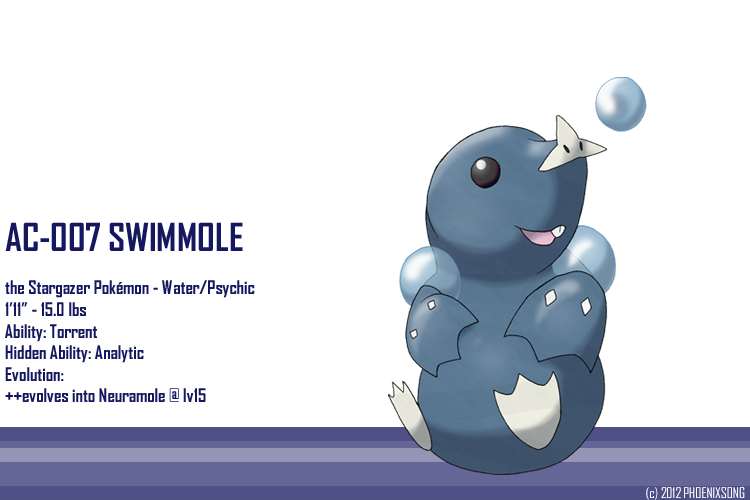 Star nosed mole clipart image free stock Swimmole by phoenixsong on DeviantArt image free stock