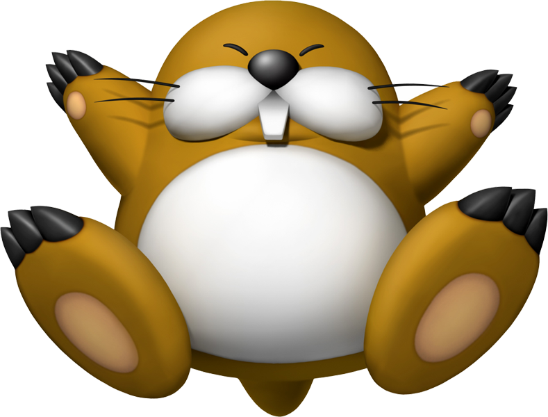 Star nosed mole clipart clipart transparent Five Characters Waiting for a Spot in Mario Party - Mario Party Legacy clipart transparent