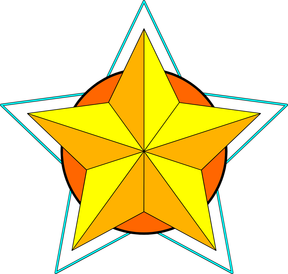 Star yellow clipart vector stock Star | Free Stock Photo | Illustration of a yellow star | # 7973 vector stock