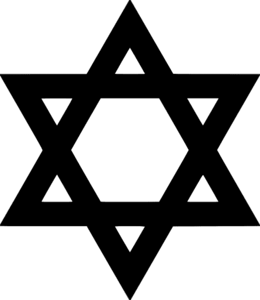 Star of david clipart images vector stock 28+ Collection of Star Of David Clipart Black And White | High ... vector stock