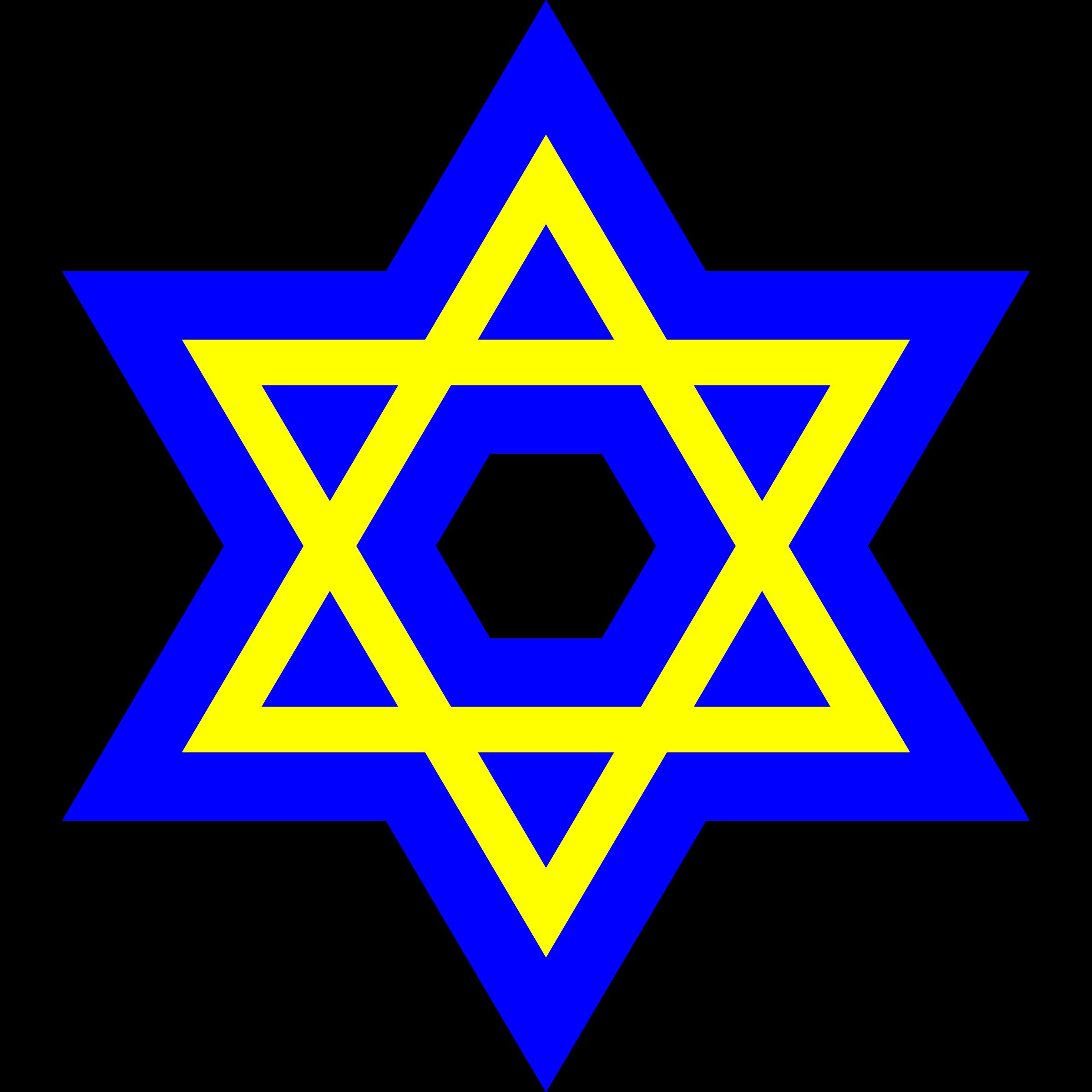 Star of david clipart free Clipart - VA-003 Judaism free
