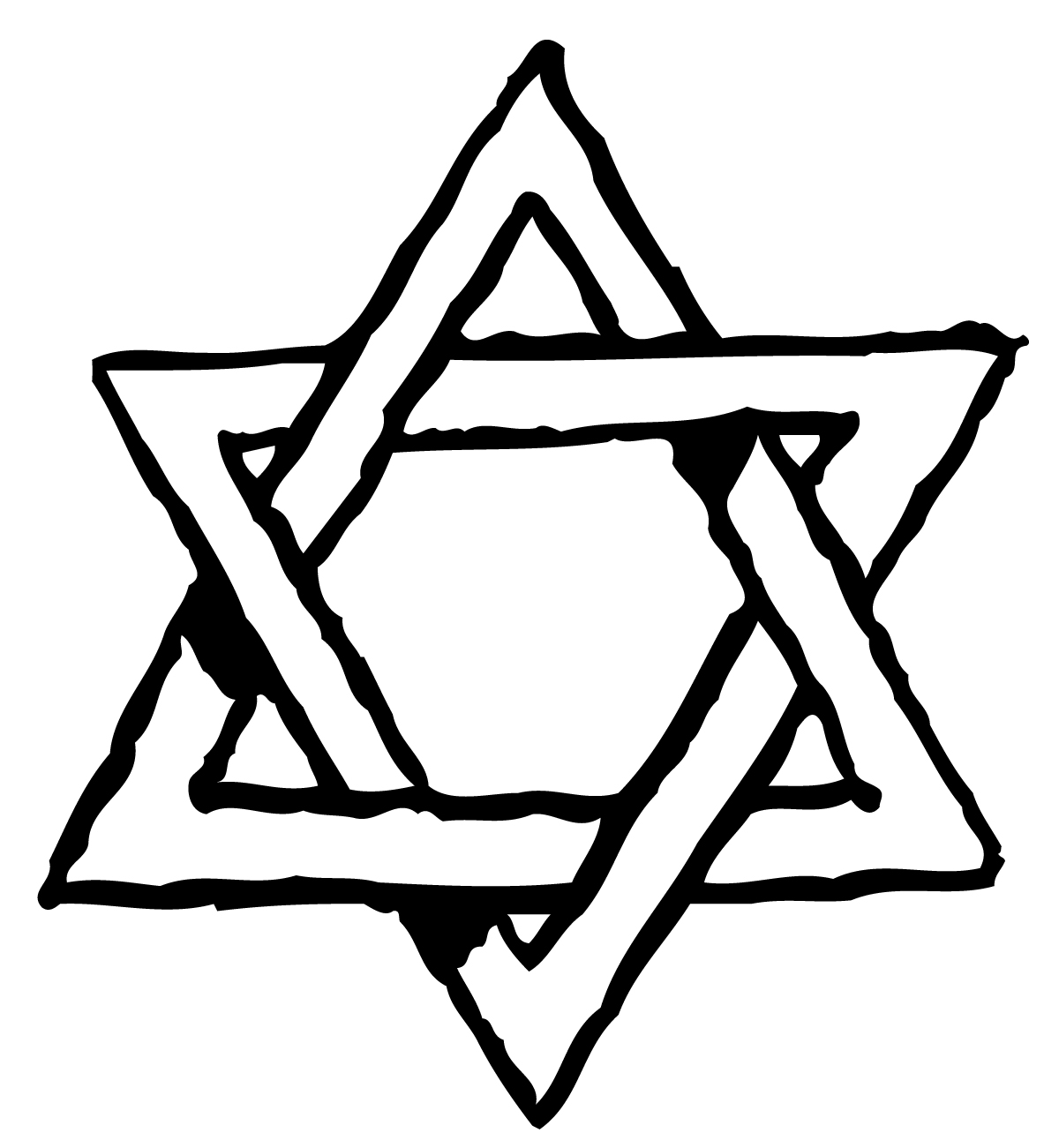 Star of david clipart free black and white image royalty free stock Free Pictures Of Star Of David, Download Free Clip Art, Free ... image royalty free stock