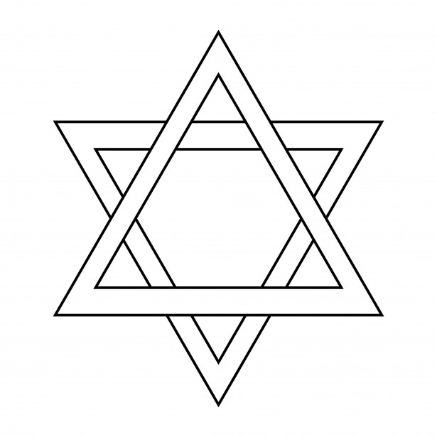 Star of david clipart free black and white banner stock Free Pictures Of Star Of David, Download Free Clip Art, Free ... banner stock