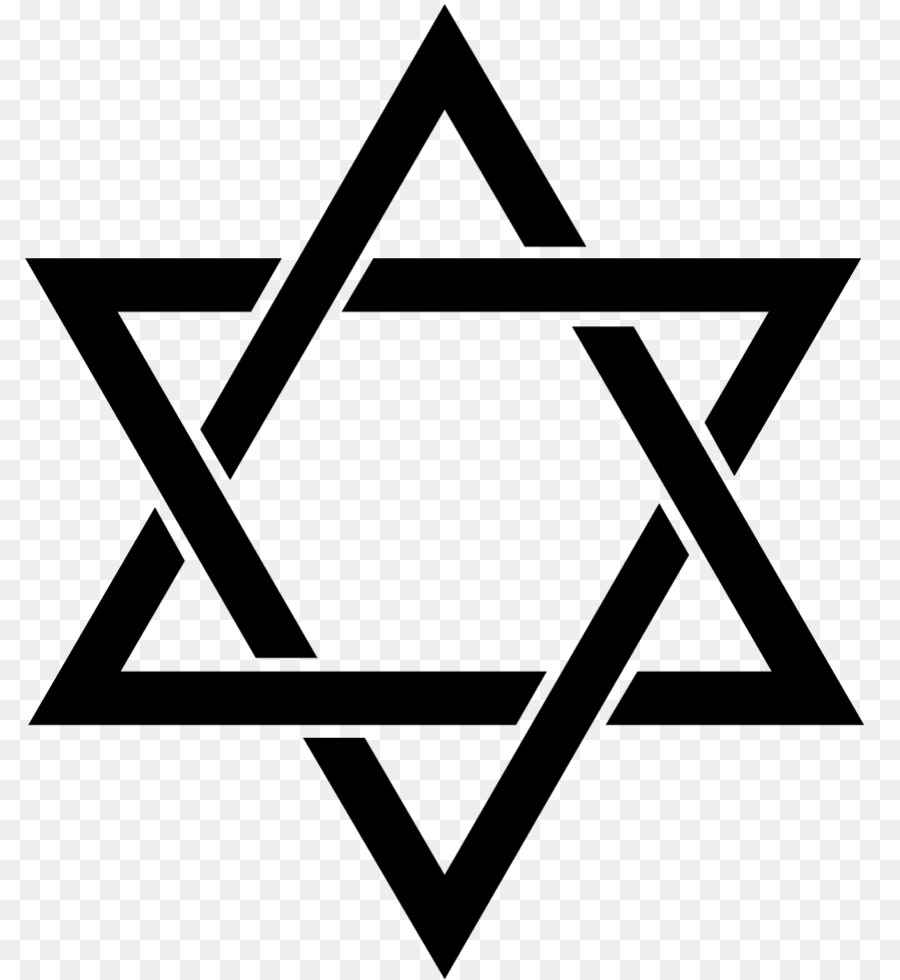 Star of david clipart free black and white svg freeuse library White Background People png download - 850*979 - Free ... svg freeuse library