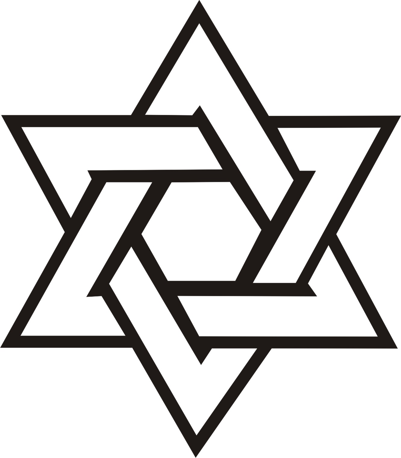 Star of david clipart free black and white vector black and white library Free Pictures Of Star Of David, Download Free Clip Art, Free ... vector black and white library