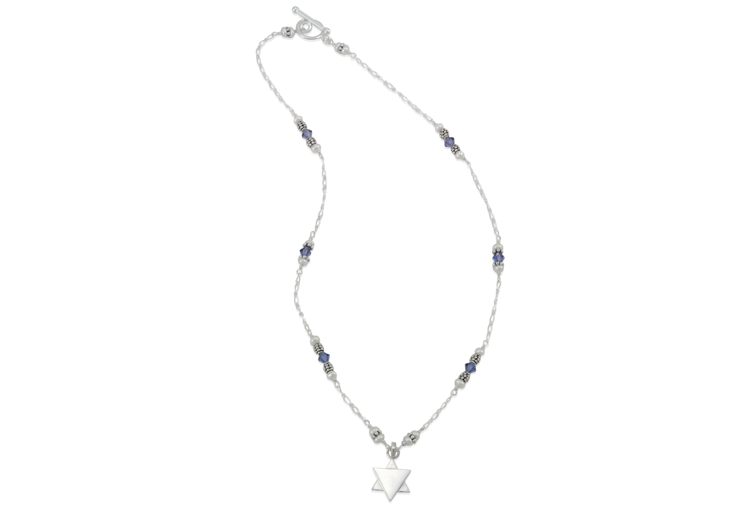 Star of david necklace clipart graphic black and white Star Of David Necklace - clipart graphic black and white