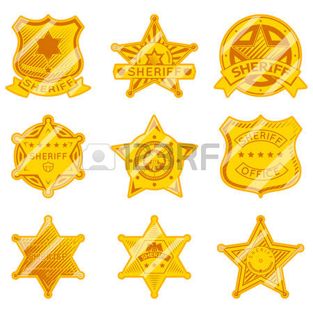 Star police badge clipart clipart transparent 4,427 Sheriff Badge Cliparts, Stock Vector And Royalty Free ... clipart transparent
