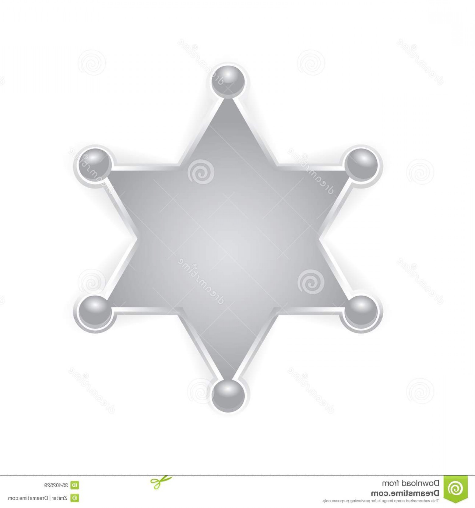 Star police badge clipart clipart freeuse library Best Six Point Star Badge Clipart Design   VectoRealy clipart freeuse library
