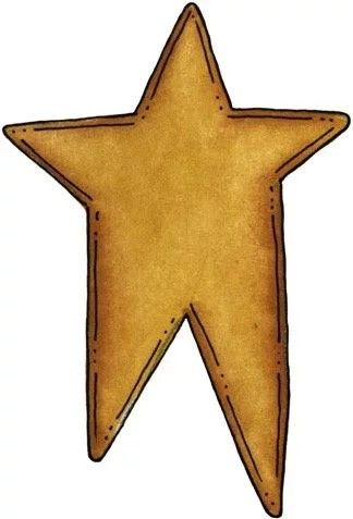 Star primative clipart picture royalty free stock Pin by Mary Anna on Primitive Decorating Elements ... picture royalty free stock