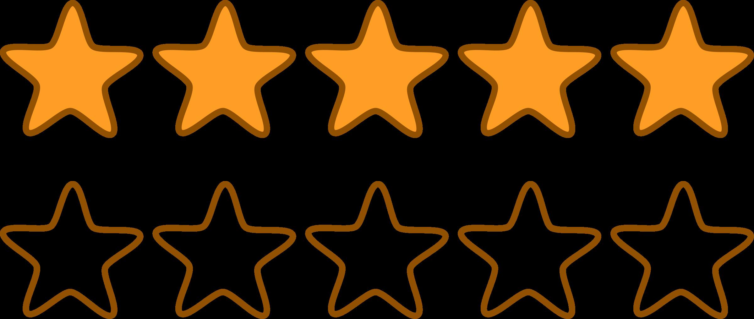Star rating clipart clip art free stock Clipart - Stars clip art free stock