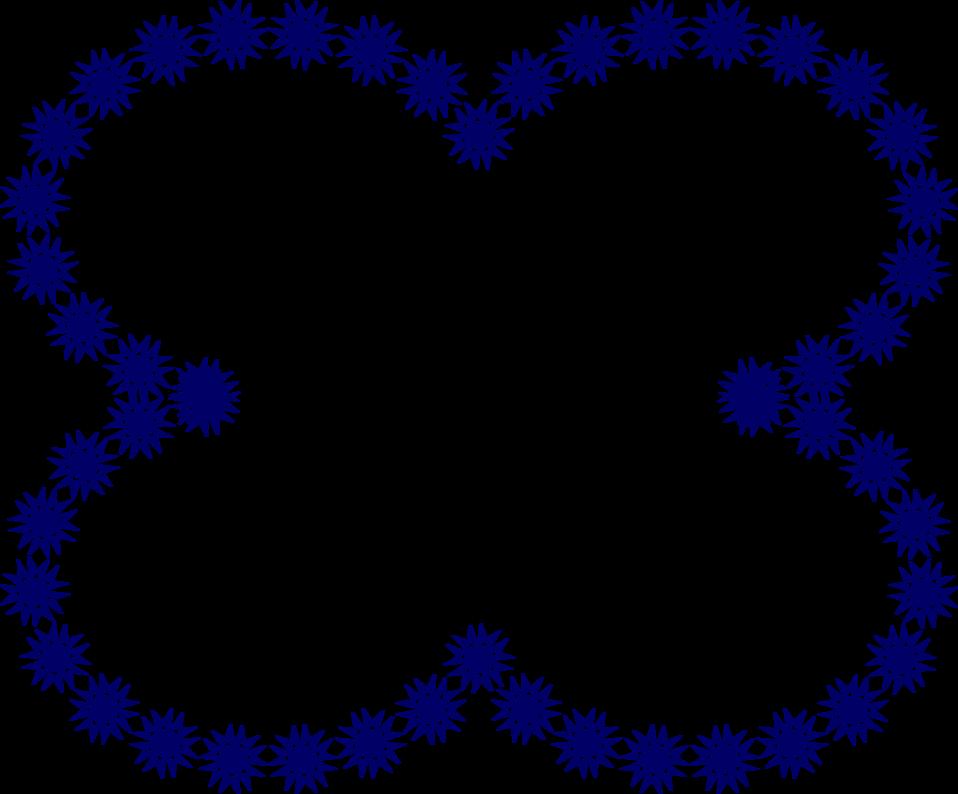 Star shaped frame clipart vector stock Border Blue | Free Stock Photo | Illustration of clover shaped frame ... vector stock