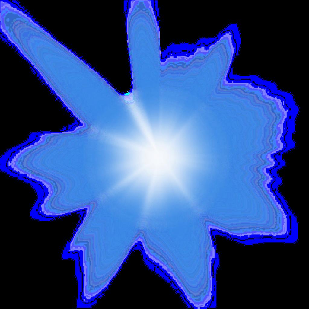 Star shine clipart stock shine blue star explosion freetoedit... stock