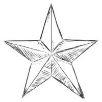 Star sketch clipart clipart transparent stock Vector Sketch Star stock vectors - Clipart.me clipart transparent stock