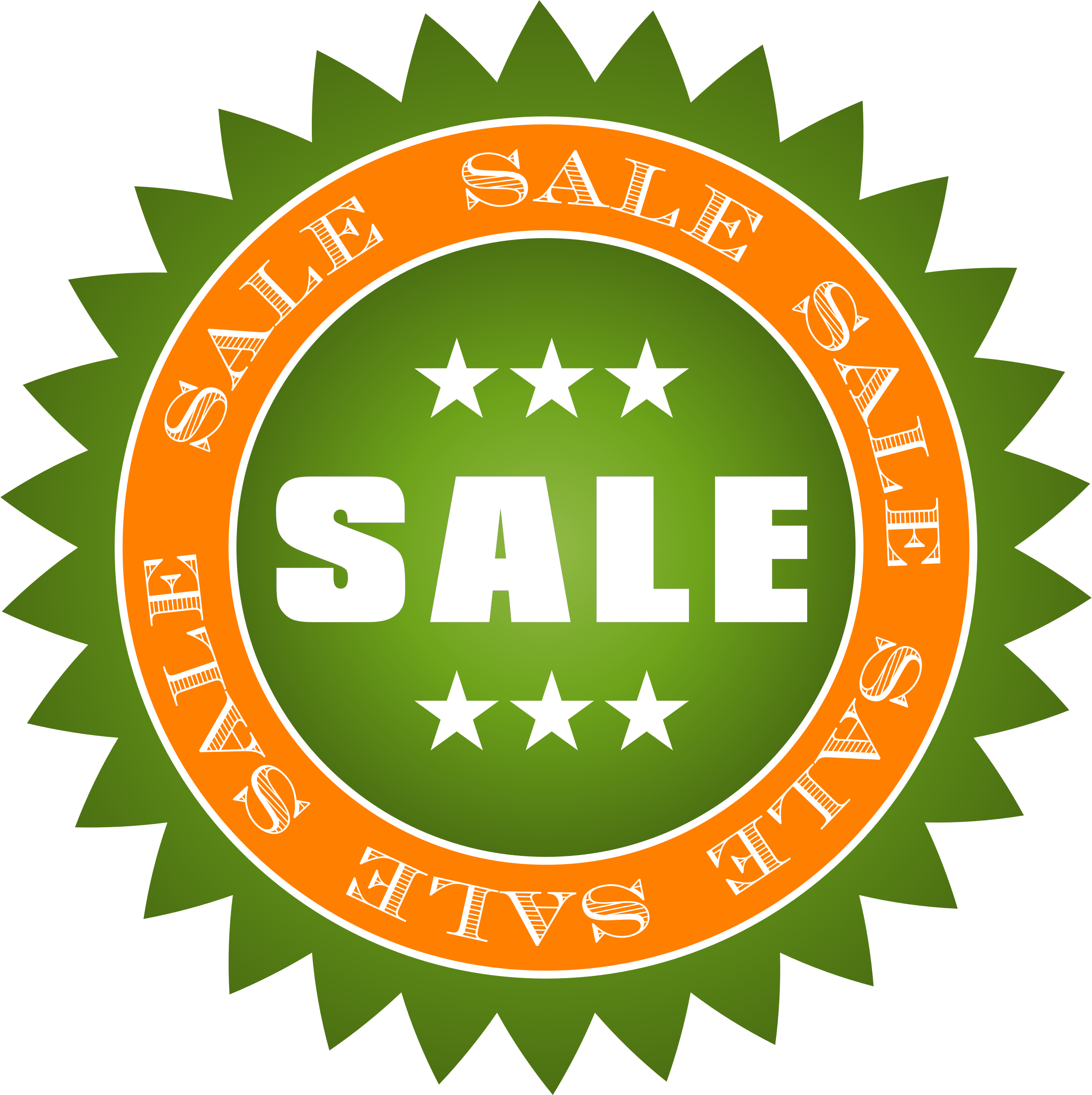 Star sticker clipart png stock Clipart - Sale Sticker png stock