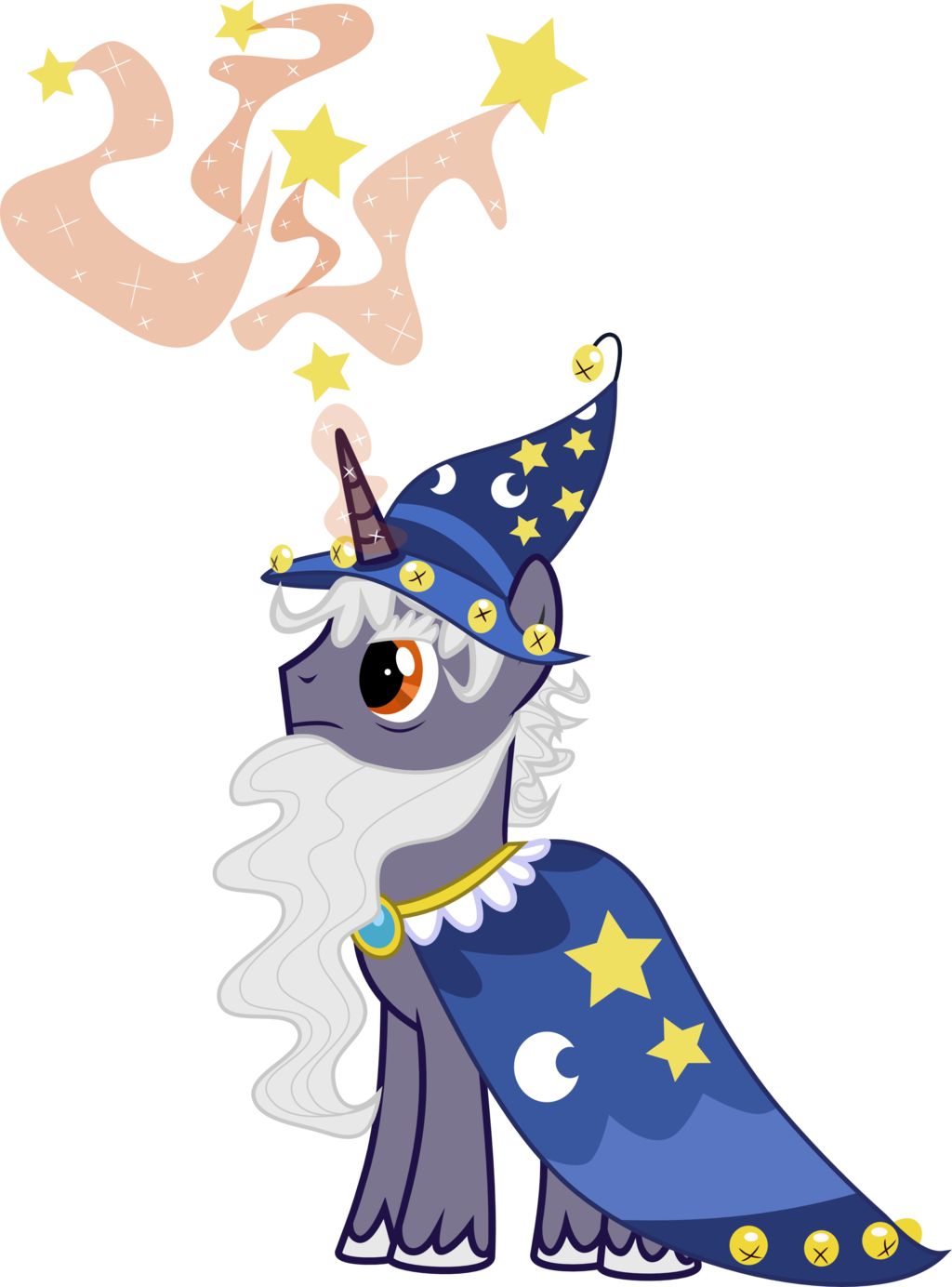 Star swirl clipart vector royalty free Star Swirl the Bearded on BeardedPonies - DeviantArt vector royalty free