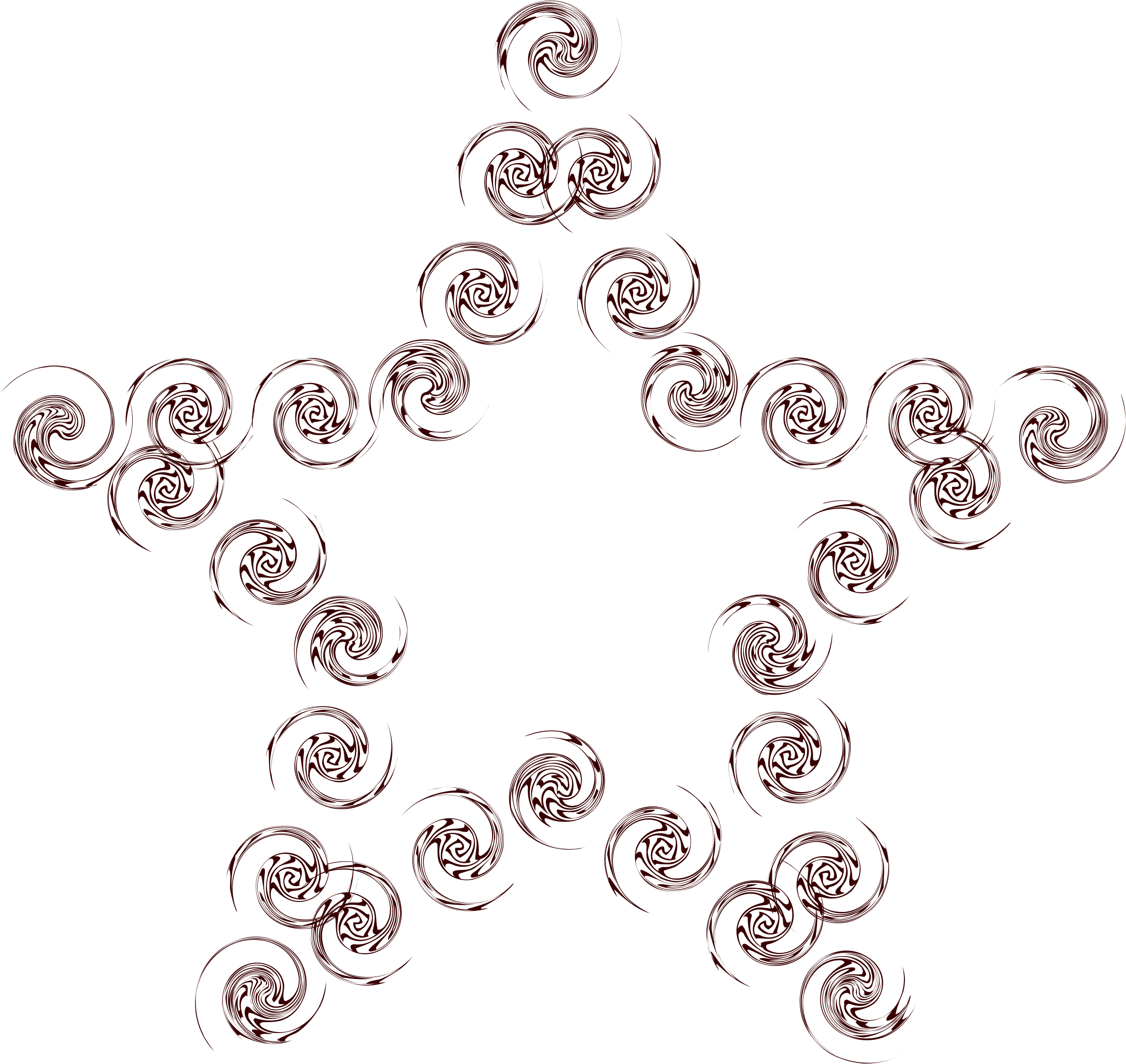 Star swirl clipart picture freeuse library Clipart - Swirl Star picture freeuse library
