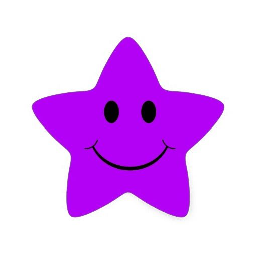 Star thumbs up clipart black and white stock Purple Smiley-Face Thumbs Up | Purple Star Smiley Face Stickers ... black and white stock