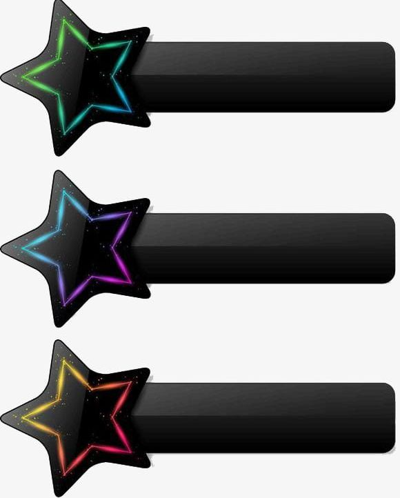 Star tips clipart black and white Cool Star Decoration Tips Button Background Pattern PNG ... black and white