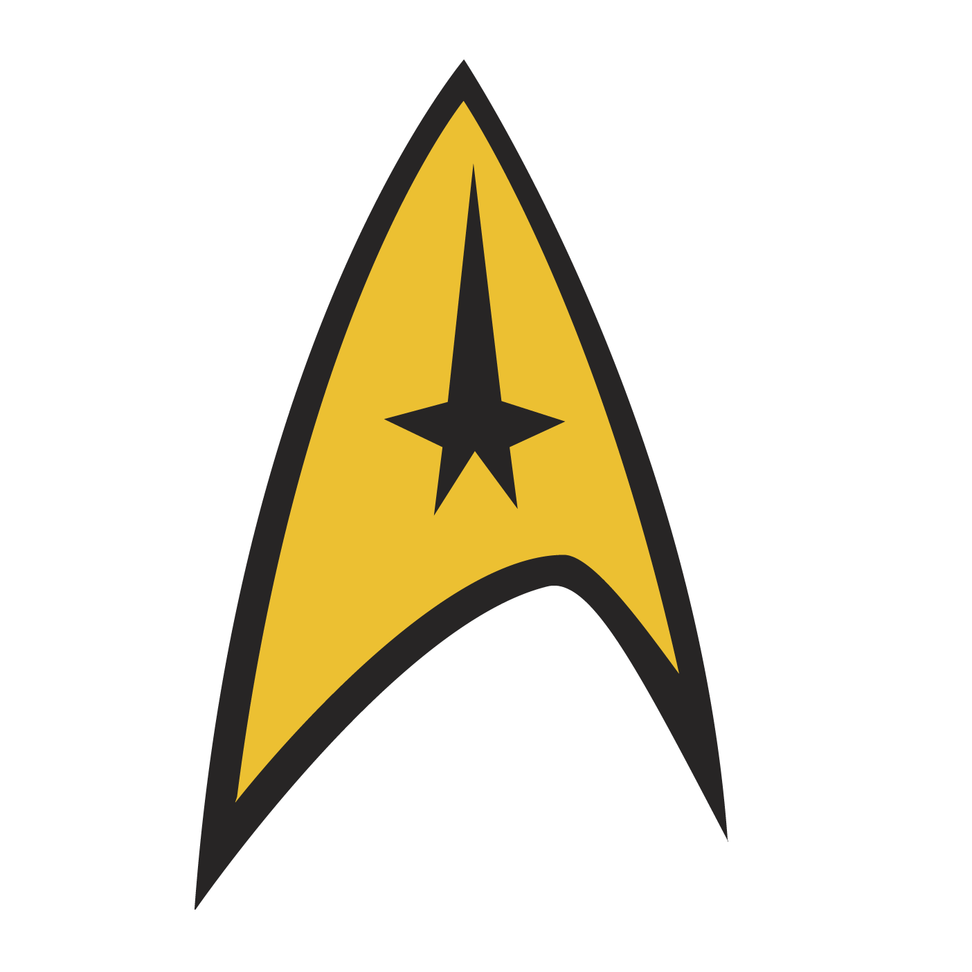 Star trek symbol clipart banner Star Trek Badge by DHLarson.deviantart.com on @deviantART | Star ... banner