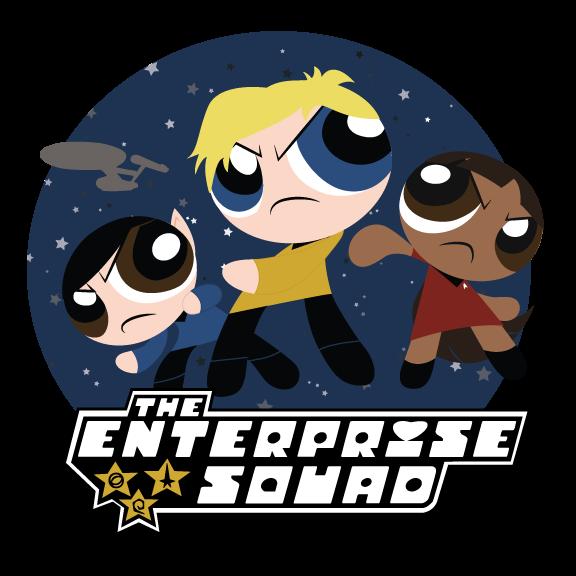 Star trek enterprise clipart banner download The Enterprise Squad: Powerpuff Style | Powerpuff Style | Know Your Meme banner download