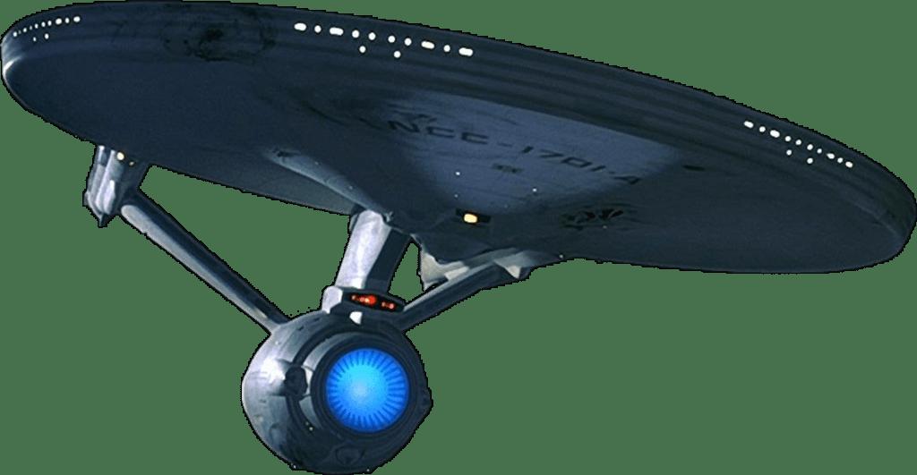 Star trek enterprise clipart png black and white download Starship Enterprise Bottom transparent PNG - StickPNG png black and white download