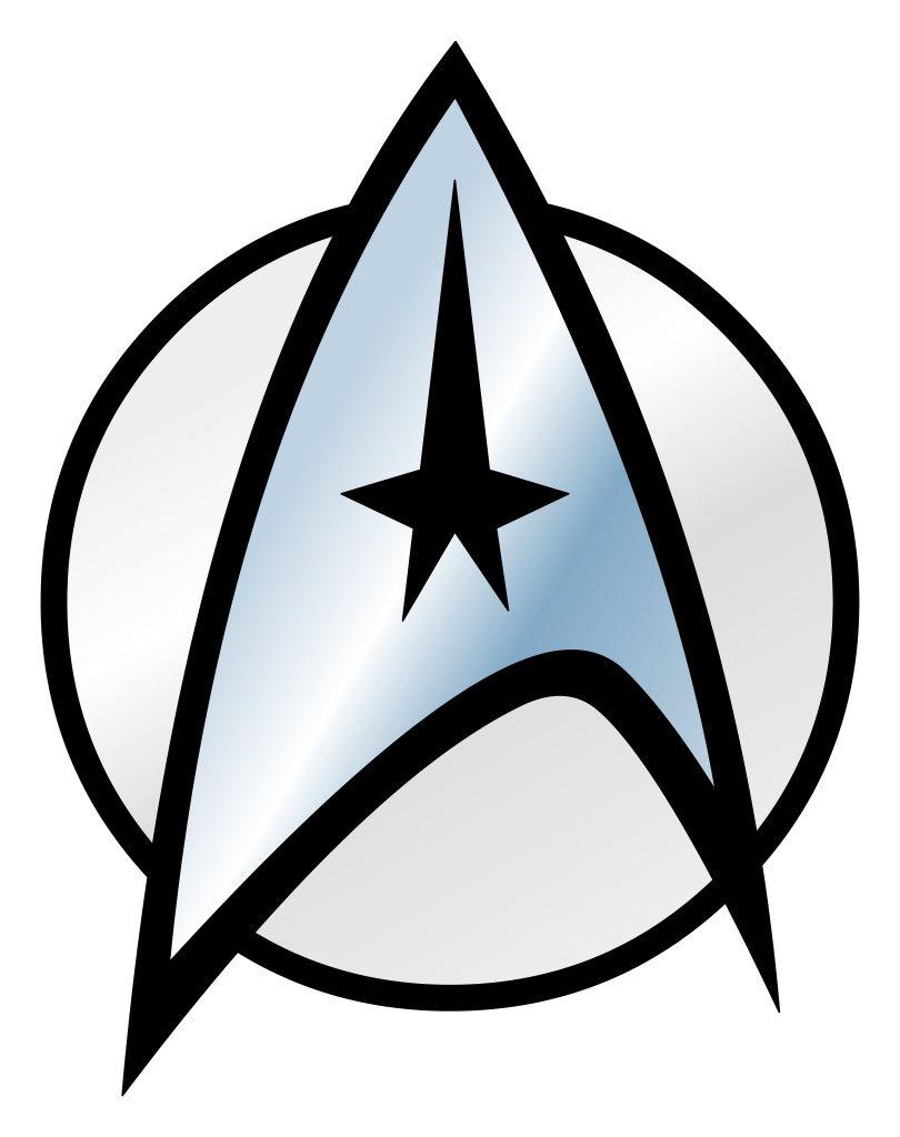Star trek insignia clipart jpg Starfleet Sticker (Rectangle) | Ink under the skin | Star ... jpg