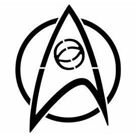Star trek insignia clipart clip art transparent Printable Star Trek Insignia | Star Trek - Science Insignia ... clip art transparent