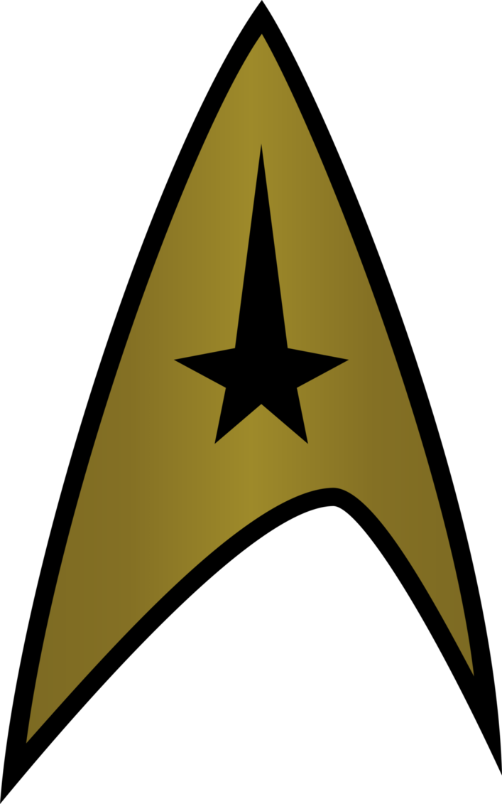 Star trek symbol clipart clipart library Starfleet Insignia (2270s) by CenCerberon on DeviantArt clipart library
