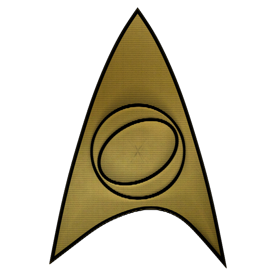 Star trek tos clipart image black and white Star Trek TOS Science Officer's Patch by Agent-0013 on DeviantArt image black and white