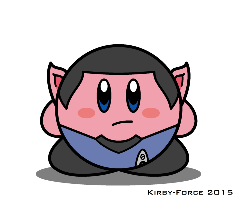 Star trek tos clipart png freeuse download Kirby Star Trek: Spock (TOS) by Kirby-Force on DeviantArt png freeuse download