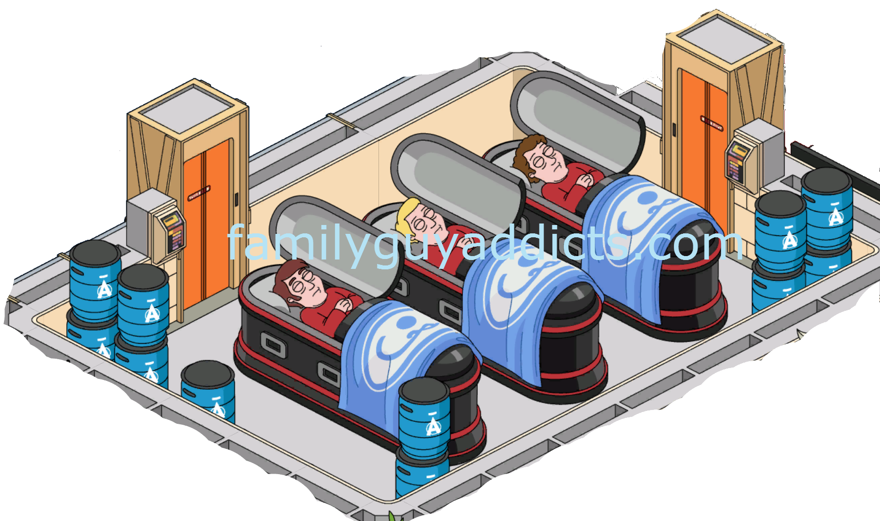 Star trek transporter clipart image free stock Star Trek Enterprise: Ten Forward Rooms | Family Guy Addicts image free stock