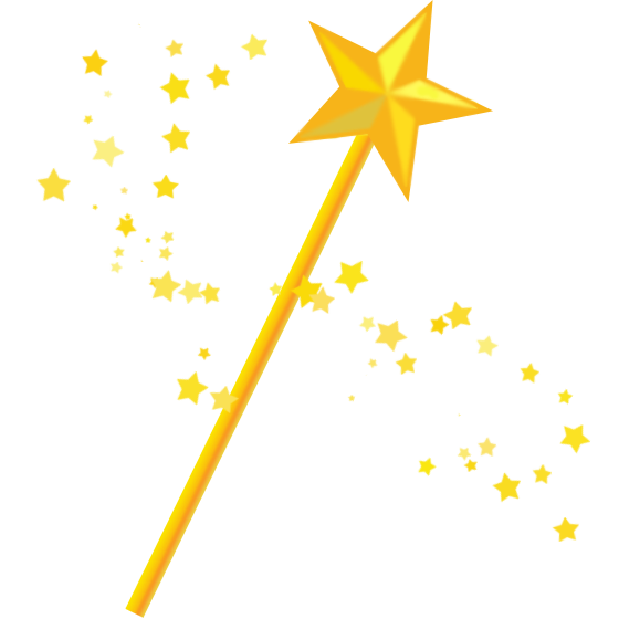 Star wand clipart clipart royalty free stock Wand Magician Clip art - magic wand 560*560 transprent Png Free ... clipart royalty free stock