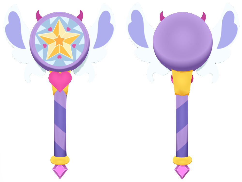 Star wand with ribbon clipart jpg royalty free MMD] S3 Star Butterfly's Wand DOWNLOAD by Finn-Kun541 on DeviantArt jpg royalty free