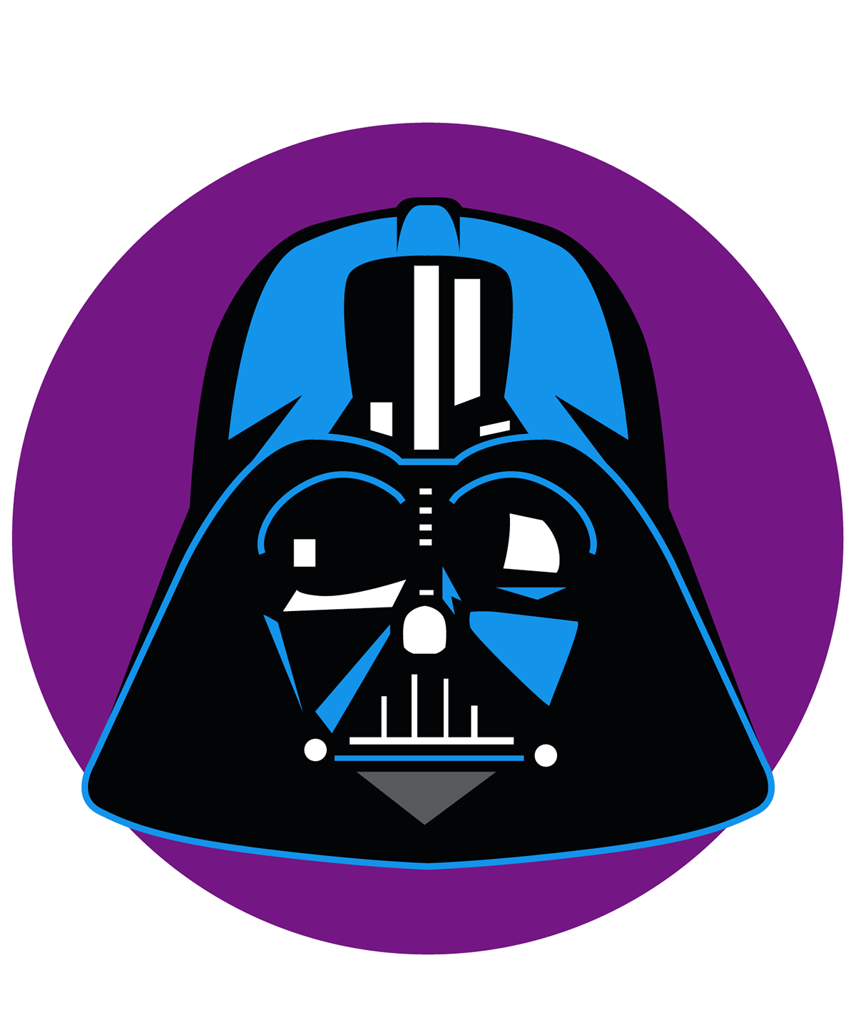 Star wars clipart for coloring clip freeuse Star Wars Darth Vader Clipart at GetDrawings.com | Free for personal ... clip freeuse