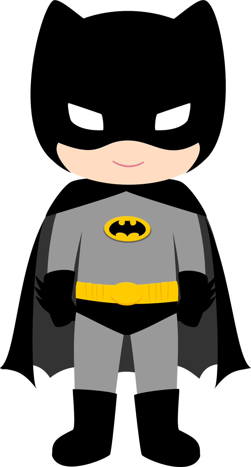 Star wars batman clipart transparent library Characters of Batman Kids Version Clip Art. - Oh My Fiesta! for Geeks transparent library