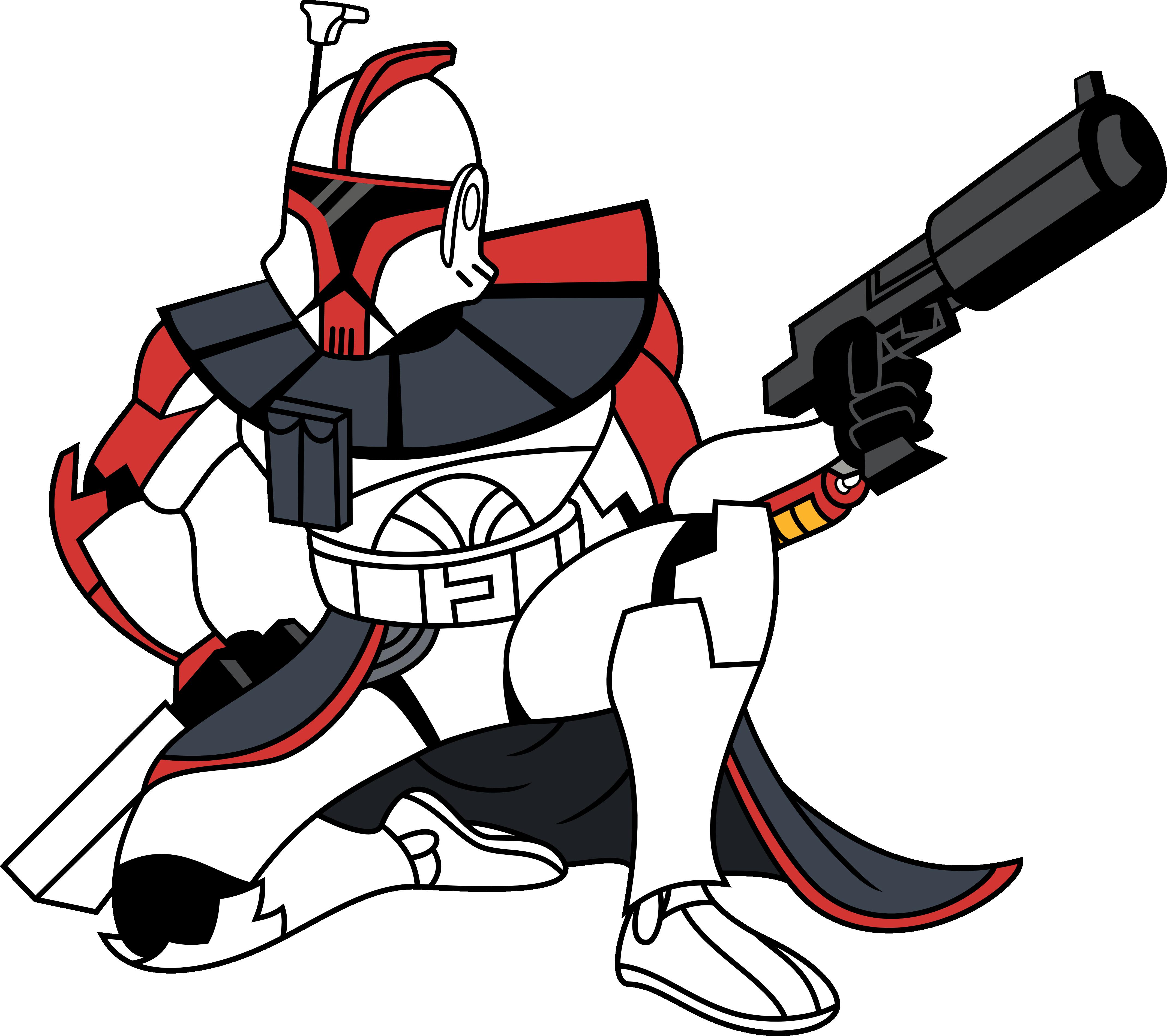 Star wars battlefront clipart svg royalty free Clone trooper Star Wars Battlefront II ARC Troopers 501st Legion ... svg royalty free