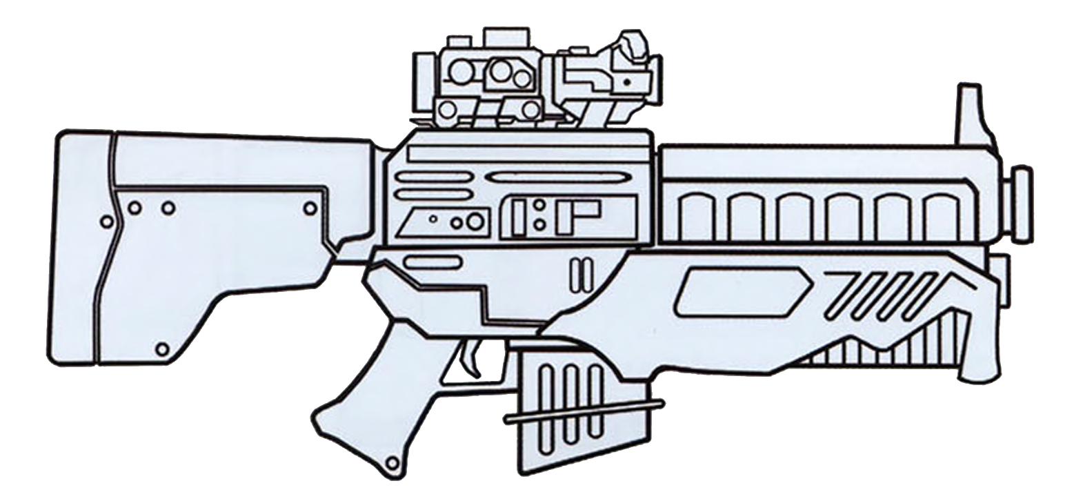 Star wars blaster clipart vector transparent download DH-X heavy blaster rifle | Wookieepedia | FANDOM powered by Wikia vector transparent download