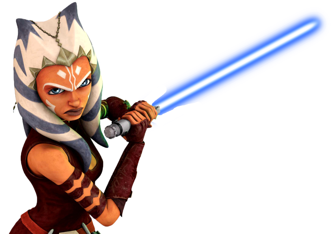Star wars blue lightsaber clipart vector library download Ahsoka Blue Lightsaber by SuperHeroTimeFan on DeviantArt vector library download