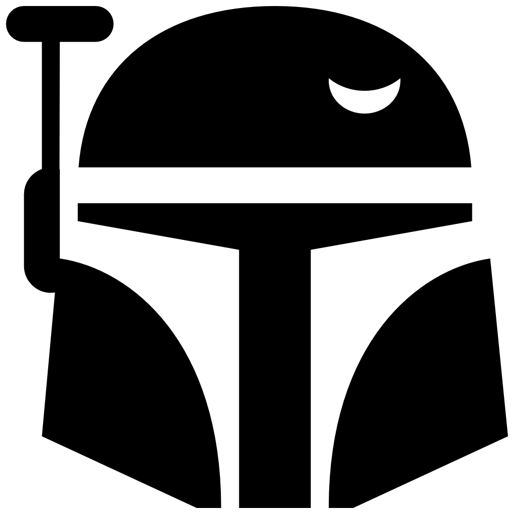 Star wars clipart boba fett clipart transparent Boba Fett Icon | Free Star Wars Iconset | Sensible World clipart transparent