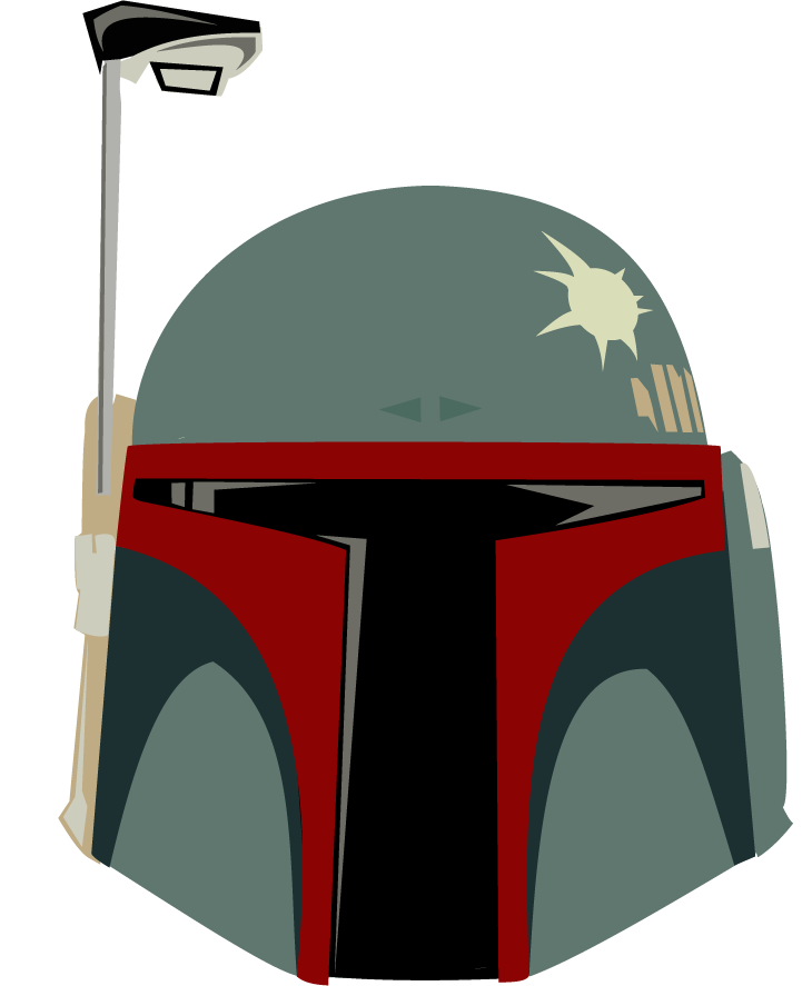 Star wars clipart boba fett picture transparent library Character vectors – Navigating Infinity picture transparent library