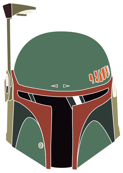Star wars boba fett clipart image transparent library I draw the lines – And lines are what I draw. image transparent library