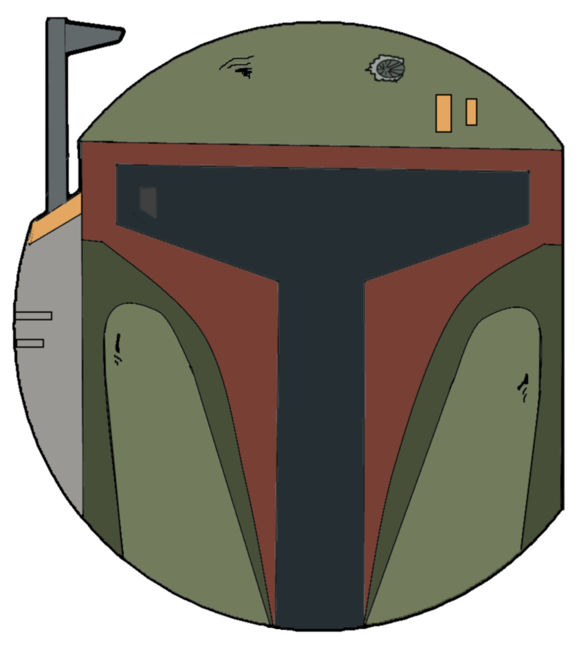 Star wars clipart boba fett image freeuse Star Wars Boba Fett Face by jordo21 on DeviantArt image freeuse
