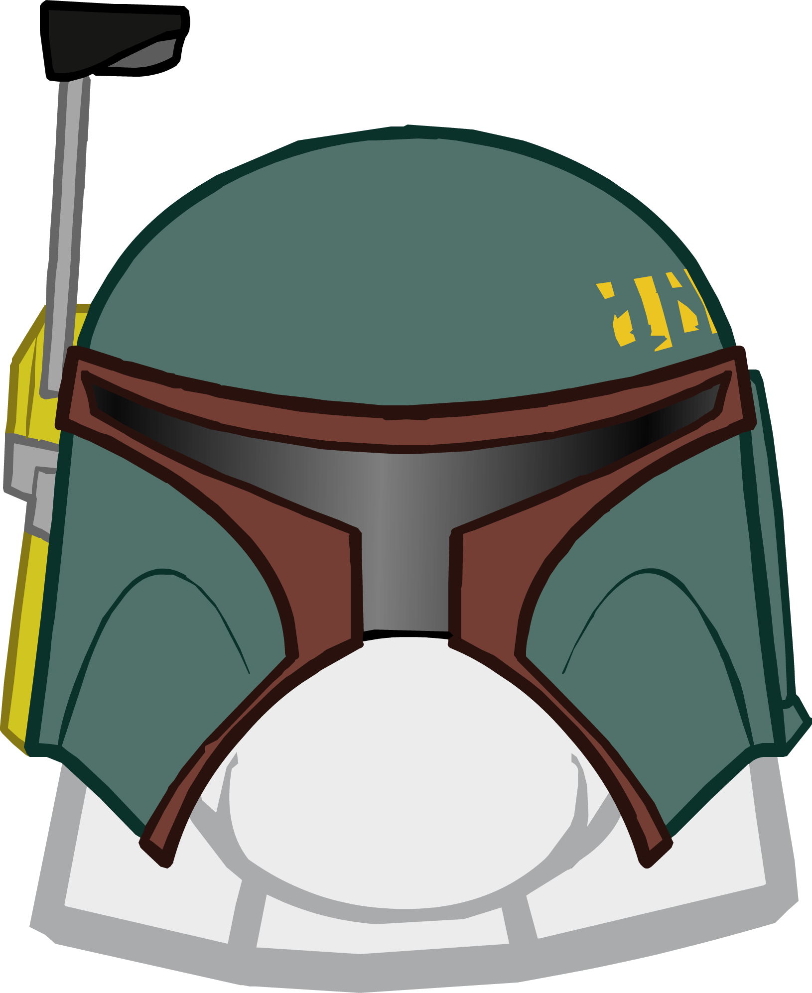 Star wars boba fett clipart graphic freeuse library Boba Fett Helmet | Club Penguin Wiki | FANDOM powered by Wikia graphic freeuse library