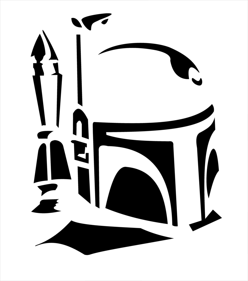 Star wars clipart boba fett graphic freeuse stock boba fett svg free - Google Search | SVG Files! | Pinterest | Boba ... graphic freeuse stock
