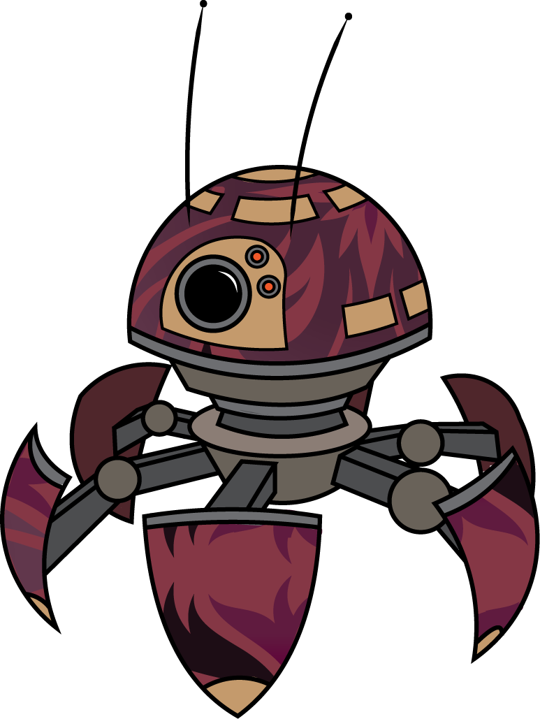 Star wars bounty hunter helmet clipart image freeuse library I saw this weird hexapod robot on YouTube the other day, and ... image freeuse library