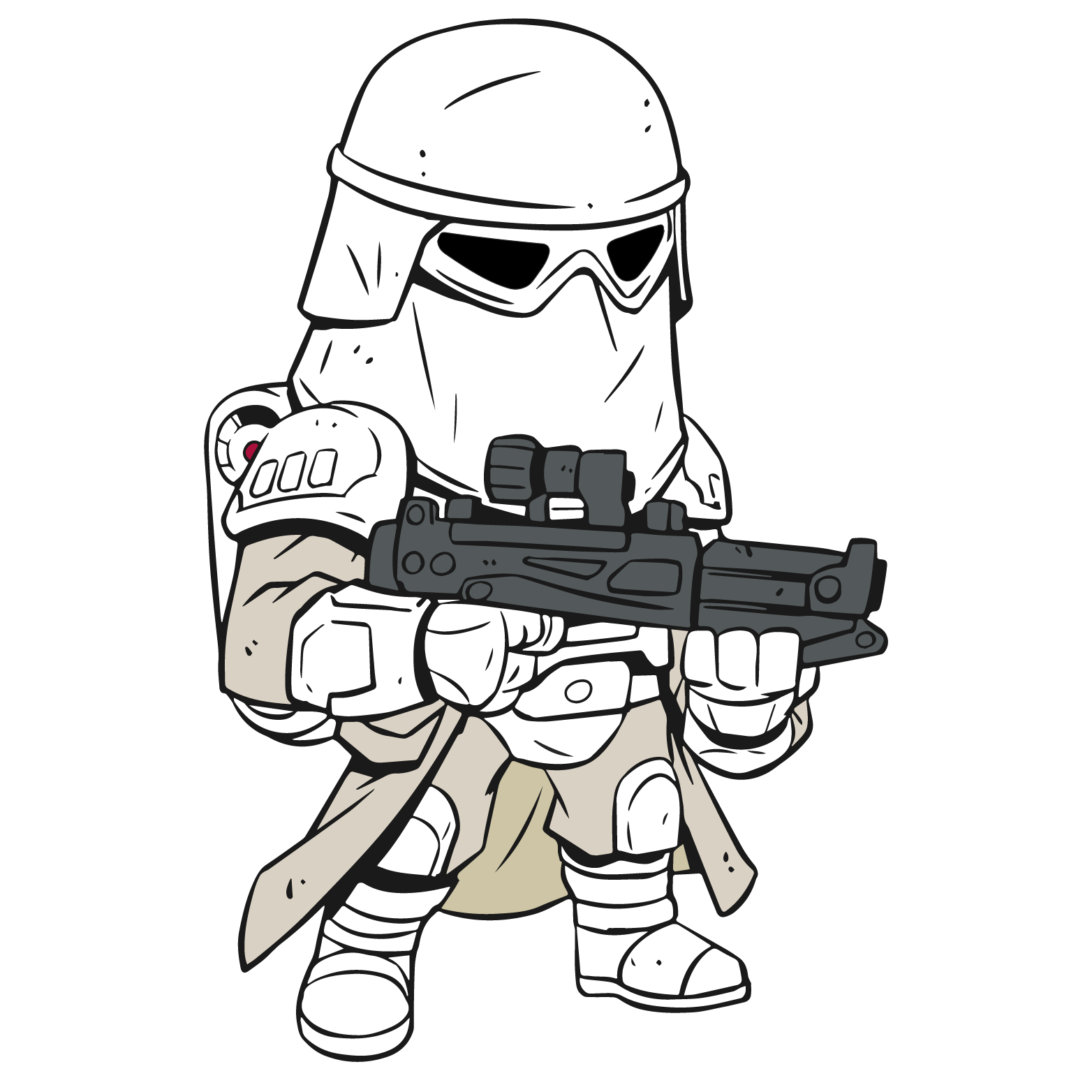 Star wars gun clipart clipart free Star Wars Cartoon Drawing at GetDrawings.com | Free for personal use ... clipart free