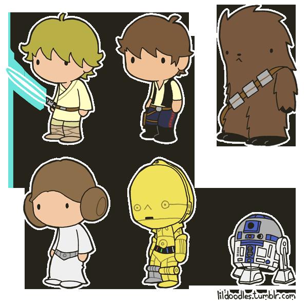 Star wars cartoons transparent leia clipart clipart library library Lil' Star Wars: Death Star Escape booster back! ... clipart library library
