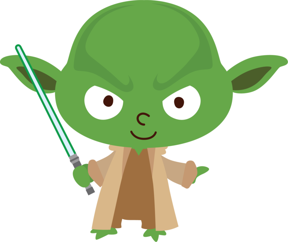 Star wars clipart clear image Yoda by Chrispix326.deviantart.com on @DeviantArt | Savannah's 6th ... image