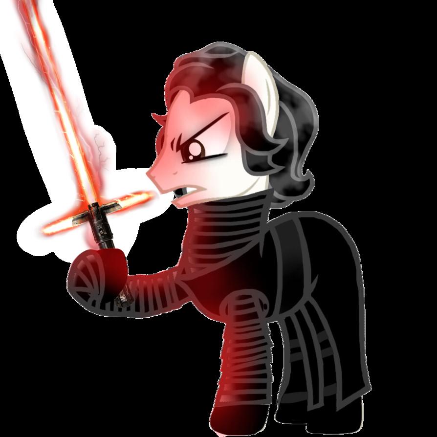 Star wars clipart kylo ren vector free Kylo Ren Pony by Floralisole on DeviantArt vector free